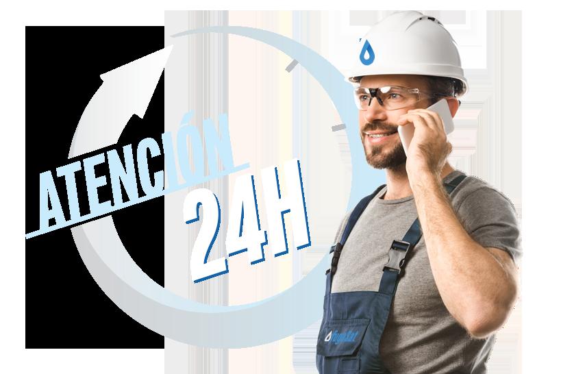 atención fugas gas natural 24 horas urgente