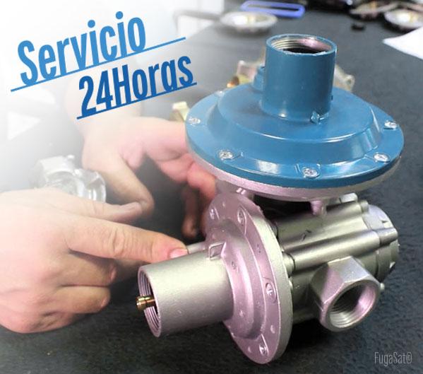 Servicio urgente 24 horas para cambio de regulador de gas natural en Toledo