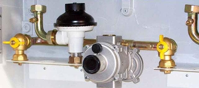 sustitución regulador gas natural urgente