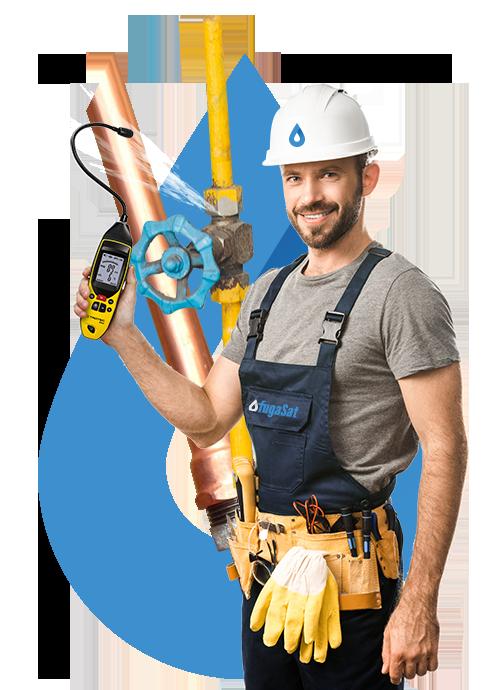 reparación de fugas en instalaciones de gas natural