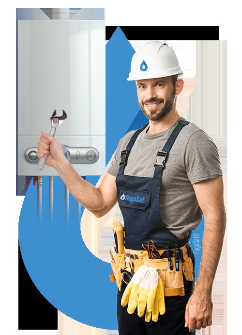 reparación urgente de calderas de gas