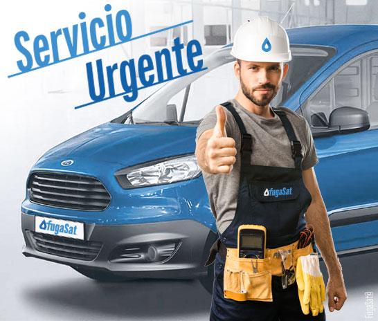 Servicio de reparación urgente de fugas de gas natural