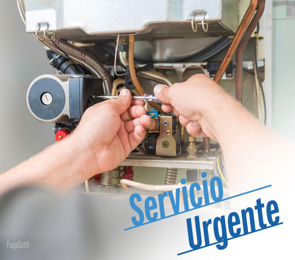 servicio técnico urgente de calderas en Toledo