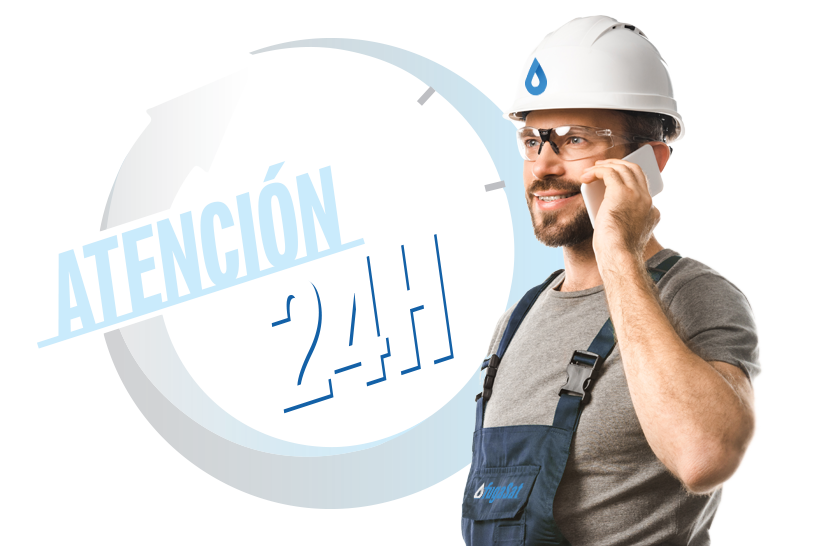 atención fugas gas natural 24 horas urgente en el Barrio del Pilar