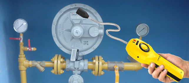 reparación fugas en reguladores de gas natural en el Barrio del Pilar