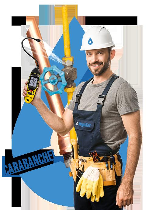 Reparar fuga de gas natural en Carabanchel