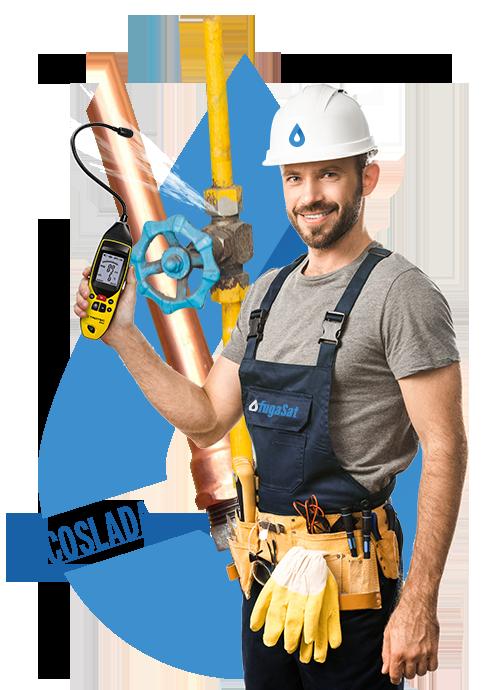 Reparar fuga de gas natural en Coslada